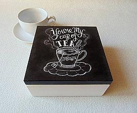 Krabičky - Čajová krabička Pre Teba - 9446515_