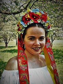 Ozdoby do vlasov - Svadobná parta - 9446615_