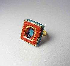 Prstene - Tana šperky - keramika/zlato - 9447450_