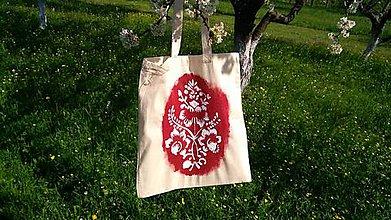 Nákupné tašky - Jarnosť - plátená taška - 9445795_