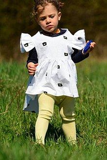 Detské oblečenie - Plátnené šatôčky / tunika - 9444800_