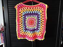 Detské oblečenie - žiarivofarebná ľahká vestička - 9446108_