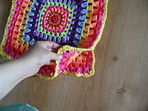 Detské oblečenie - žiarivofarebná ľahká vestička - 9446111_