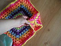 Detské oblečenie - žiarivofarebná ľahká vestička - 9446113_