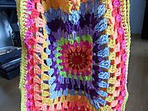 Detské oblečenie - žiarivofarebná ľahká vestička - 9446119_