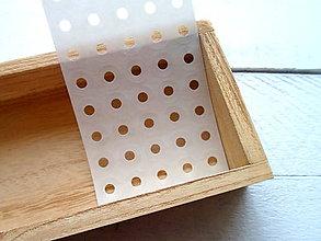 Papier - nálepky ochranné krúžky 40ks - 9445815_