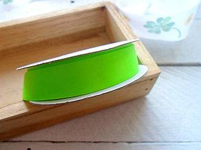 Galantéria - stuha zelená 1,85cm - 9446063_