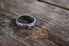 Prstene - Snubný prsteň pre lesnú vílu - 9446053_