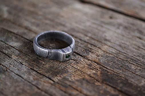 Snubný prsteň pre lesnú vílu