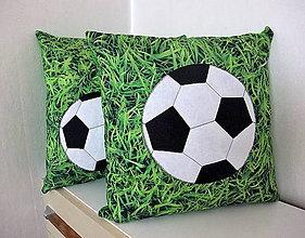 Úžitkový textil - Vankúše pre chalanov - Futbal III. - 9445926_