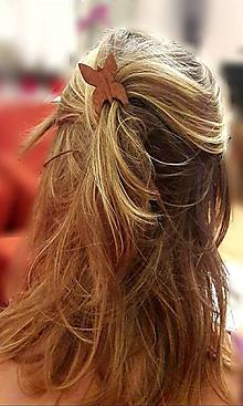 Ozdoby do vlasov - Ihlica do vlasov Motýlie krídla - 9444766_
