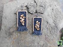 Náušnice - Náušnice - Záramovaný jaspis - 9446839_