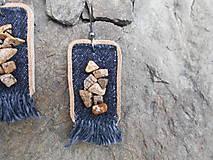 Náušnice - Náušnice - Záramovaný jaspis - 9446841_