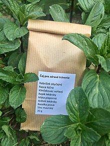 Potraviny - Čaj na zdravé trávenie - 9446055_