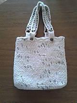 Veľké tašky - háčkovaná taška - 9446715_