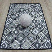 Úžitkový textil - Indiánsky vzor šedý - obrus obdĺžnik 75x40 - 9447305_