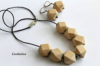 Sady šperkov - Z dreva.... - 9446059_