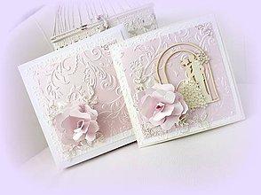 Papiernictvo - Púdrom posypané ruže - 9444941_