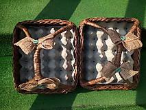 Košíky - Košík na vajíčka s rúčkou - 9445154_