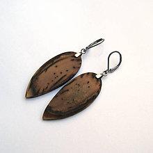 Náušnice - Mangové obrátené slzy - 9444854_