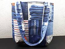 Veľké tašky - Sport Jeans bag (Červená) - 9448372_