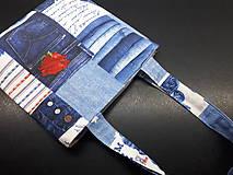 Veľké tašky - Sport Jeans bag (Červená) - 9448410_