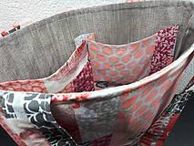 Veľké tašky - Sport Jeans bag (Červená) - 9448569_