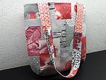 Veľké tašky - Sport Jeans bag (Červená) - 9448572_