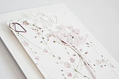 Papiernictvo - Svadobný pozdrav - Gypsomilka III - 9447985_