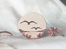 Odznaky/Brošne - Leťme ďaleko - brošňa - 9450985_