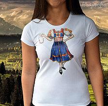 Tričká - Dámske tričko Hrajnoha - Detva - 9450549_