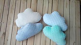 Mini minky vankúš oblak