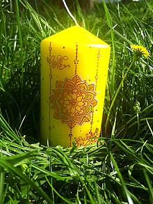 Svietidlá a sviečky - Žiarivé slniečko - 9449738_