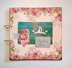 Papiernictvo - Svadobný fotoalbum 30x30 cm - 9448756_