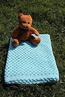 Textil - Deka tyrkysová - 9449763_