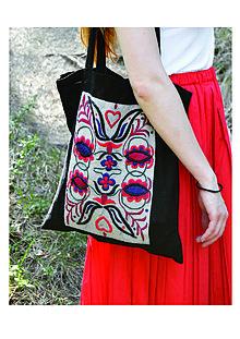 Iné tašky - Vyšívaná taška - 9449806_