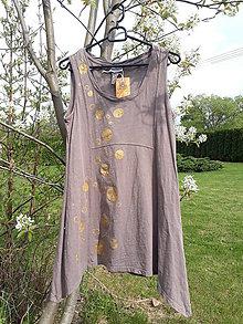 Tuniky - maľované tunikotielko