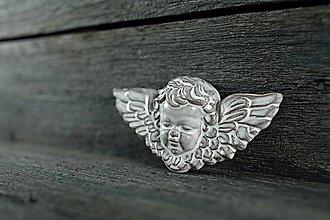 Dekorácie - Reliéfní anděl rustik - 9448321_