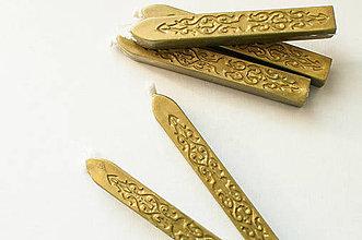 Suroviny - Pečatný vosk (Antická zlatá) - 9450144_