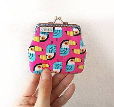 Peňaženky - Peňaženka mini Tukany - 9448094_