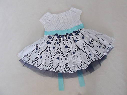 440704aebd8b Slávnostné dievčenské háčkované šaty na svadbu   mika - SAShE.sk ...