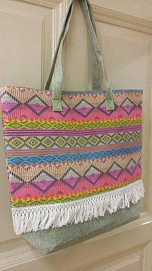 Veľké tašky - Letná taška - 9454424_