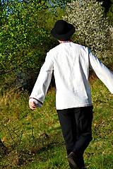 Košele - Folklórna pánska košeľa - 9453307_