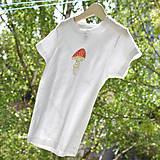 Detské oblečenie - Tričko muchotrávka - 9454673_