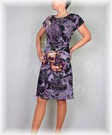 Šaty - Šaty s řasením v pase vz.402 - 9451364_