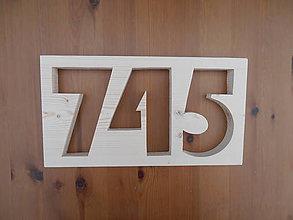 Tabuľky - Číslo na dom Modern 3číslie - 9453714_
