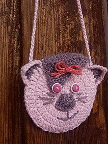 Detské tašky - Mačička Sofinka - 9454589_