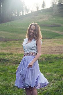 Sukne - Fialová sukňa Čataj - 9451530_