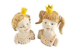 Socha - Sestričky princezničky - 9452683_