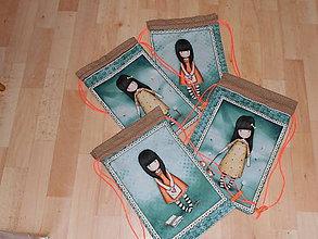 Detské tašky - taštička na chrbát - dievčatko - 9454206_
